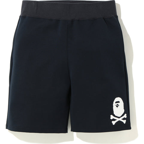 DOUBLE KNIT APE CROSSBONE SHORTS MENS