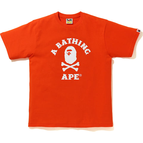 APE CROSSBONE COLLEGE TEE MENS
