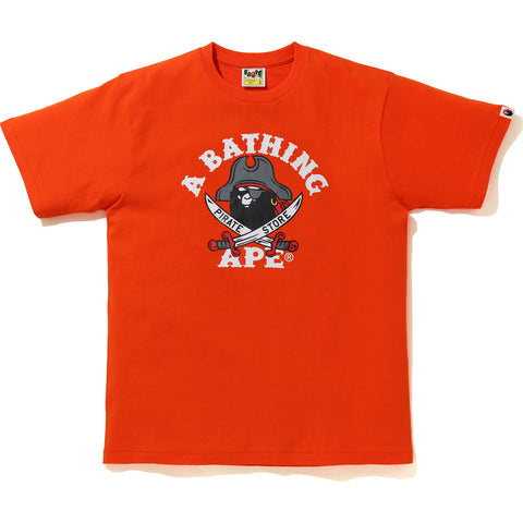 CAPTAIN APE PIRATE COLLEGE TEE MENS