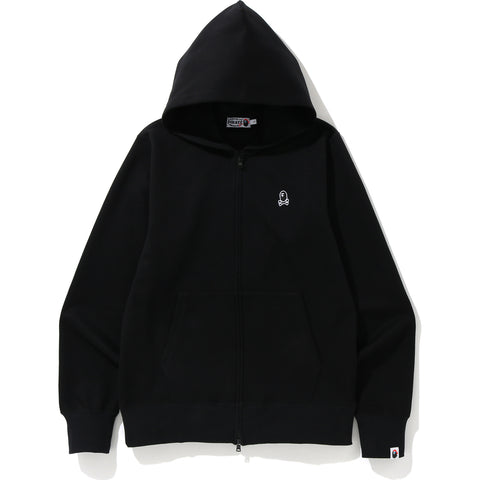 DOUBLE KNIT ONE POINT ZIP HOODIE MENS