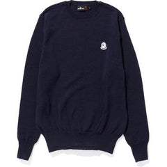 ONE POINT CREWNECK KNIT M