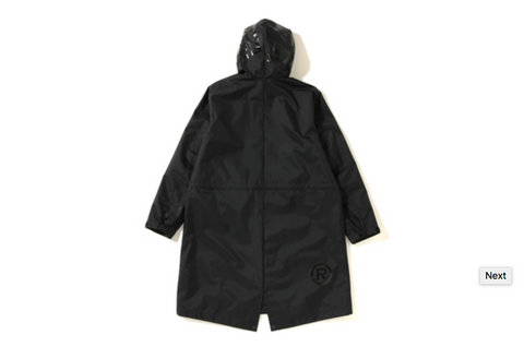 3LAYER SHARK LONG HOODIE JACKET LADIES