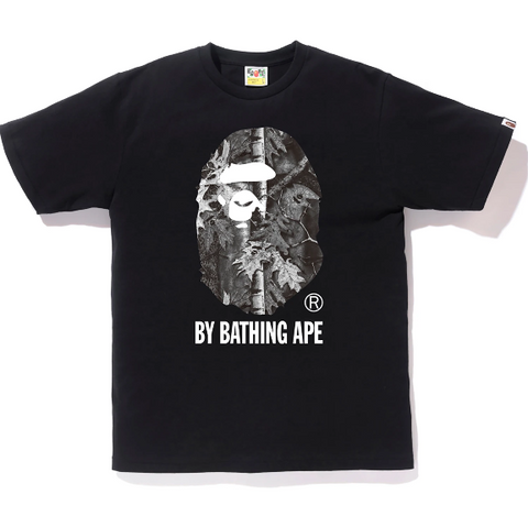 BAPE FOREST CAMO BY BATHING TEE MENS
