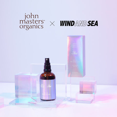 John Masters Organics x Wind and Sea Body Mist - the other side