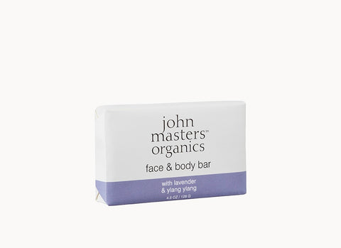 Face & Body Bar with Lavender & Ylang Ylang 4.5 oz 128 g