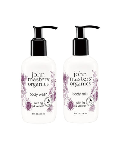 Body Care Duo with Fig & Vetiver - 15% off