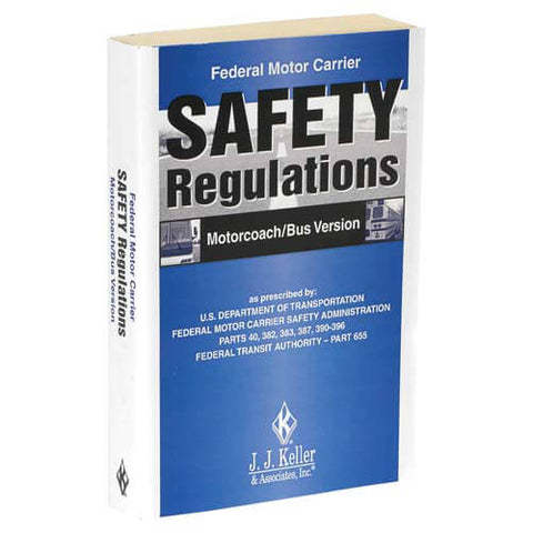 Federal Motor Carrier Safety Regulations Pocketbook - Motorcoach/Bus Version
