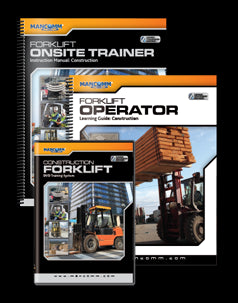 FORKLIFT OPERATOR TRAINING SYSTEM - CONSTRUCTION - ENGLISH