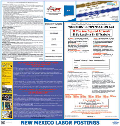 New Mexico Labor Law Poster