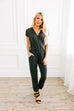 Let's Wrap Grey Jumpsuit - SHOPTHRIVER