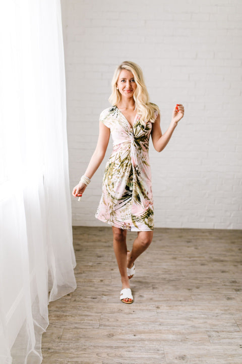 Almost Paradise Dress With A Twist - SHOPTHRIVER