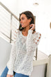 Cut Above Diamond Crochet Sweater - SHOPTHRIVER