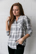 Easygoing Plaid Buttondown - SHOPTHRIVER