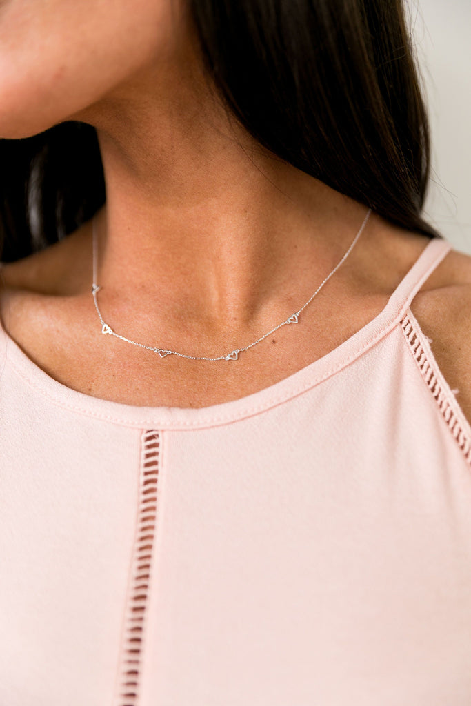 Heart's Desire Sterling Silver Necklace