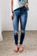 No Skin Off My Knees Skinnies - SHOPTHRIVER