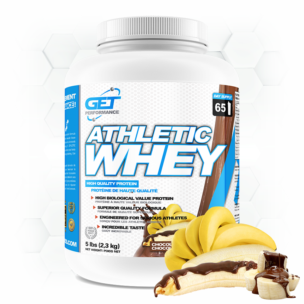 ATHLETIC WHEY - 5lbs