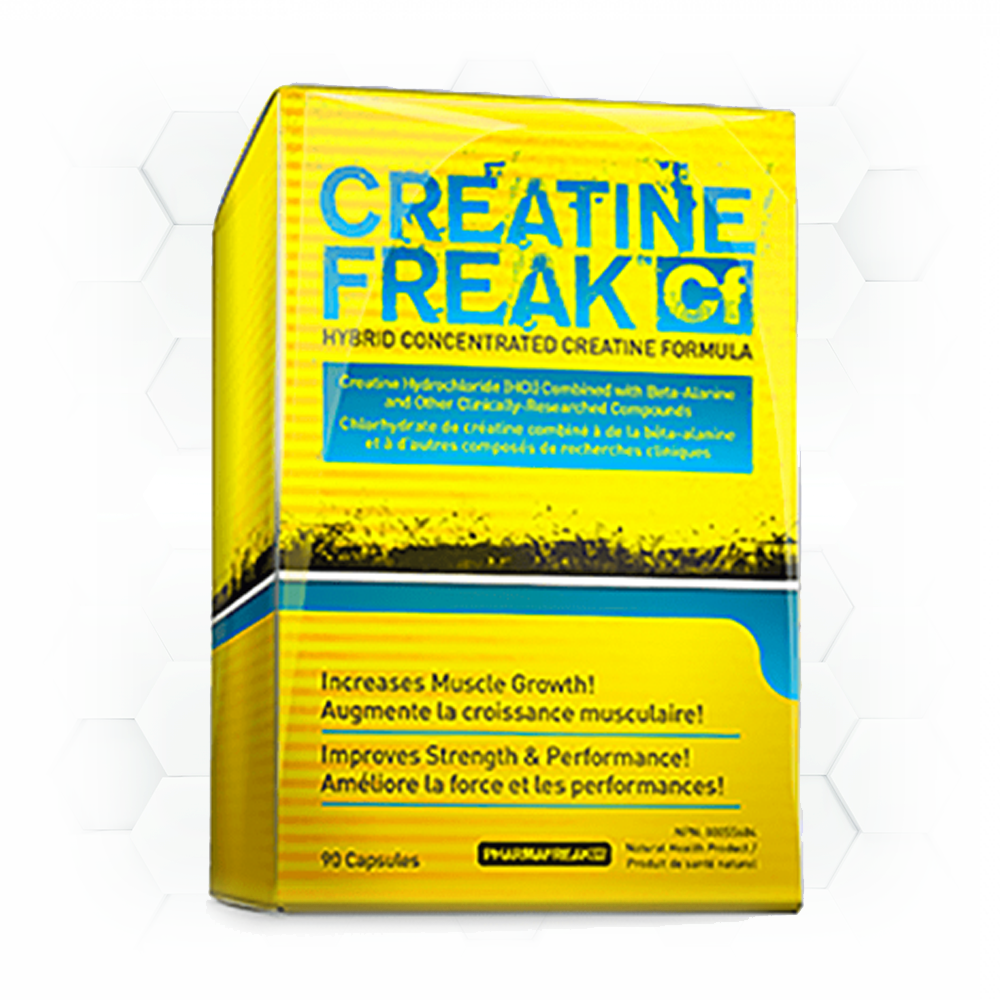 CREATINE FREAK - 90 caps.