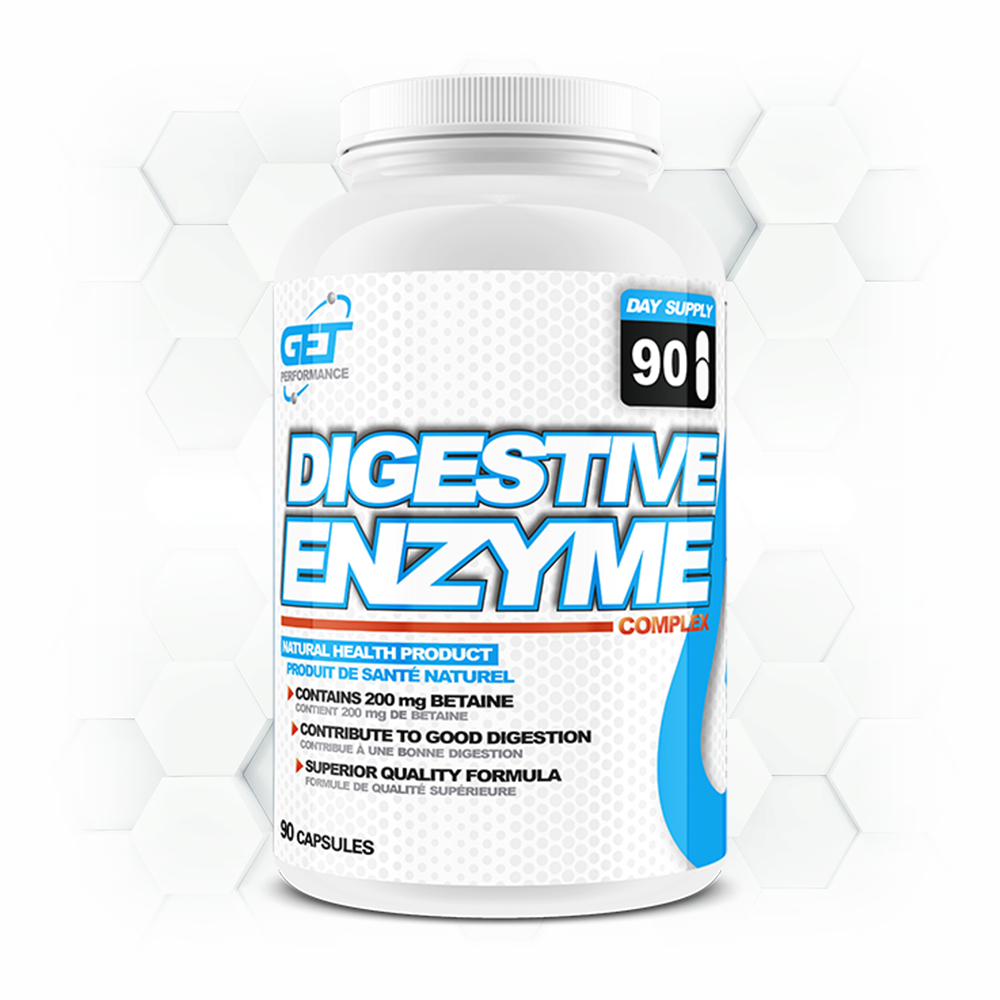 DIGESTIVE ENZYMES - 90 caps.