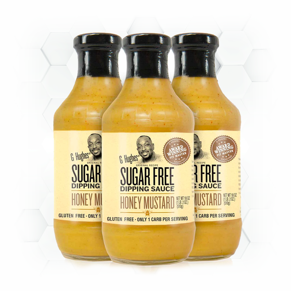 SUGAR FREE HONEY MUSTARD - 18 oz