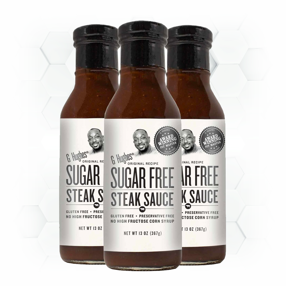 SUGAR FREE STEAK SAUCE - 13 oz