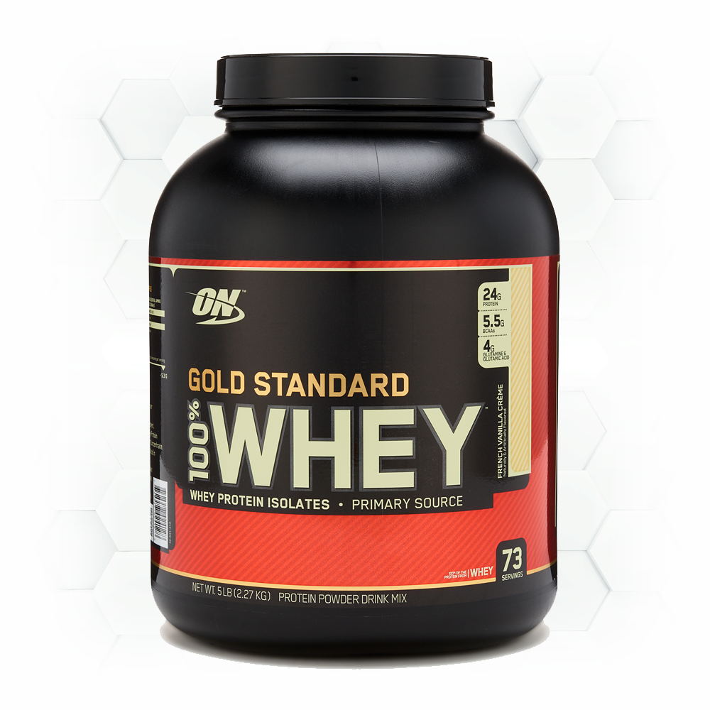 GOLD STANDARD WHEY - 5 lbs