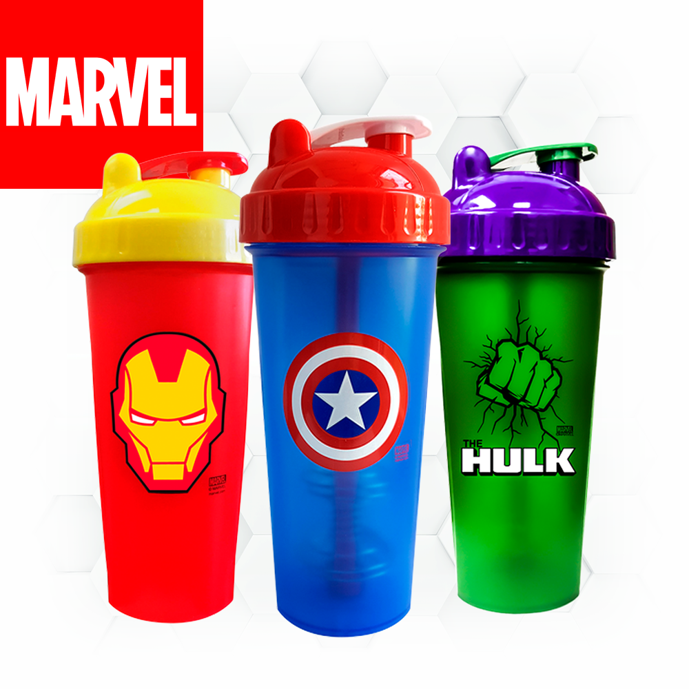 MARVEL SUPER HERO SHAKERS - 9 modèles disponibles