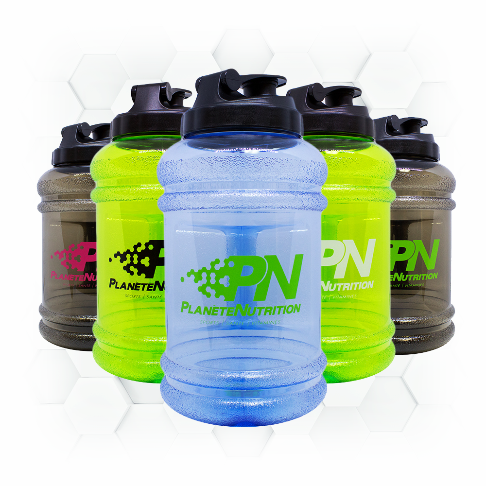 XXL SHAKERS 2.2L - 5 couleurs disponibles