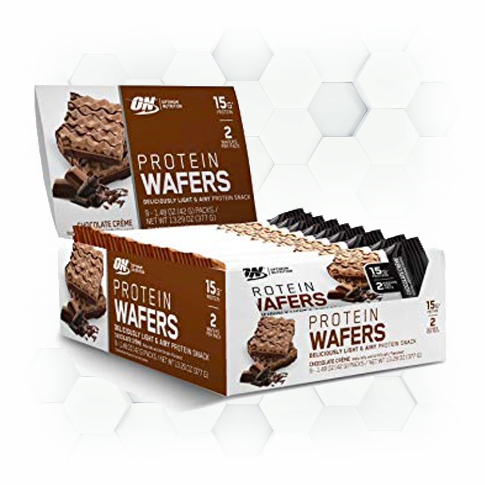 PROTEIN WAFERS - 4 saveurs disponibles
