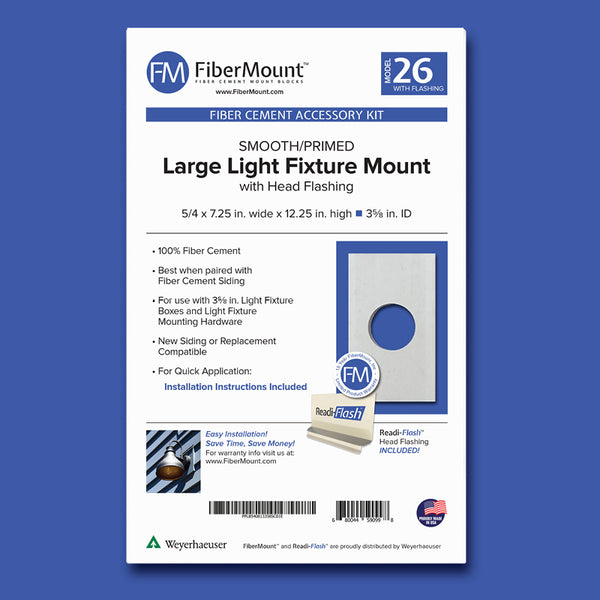 Accessory Mount Kit - Large Light Mount w/Head Flashing