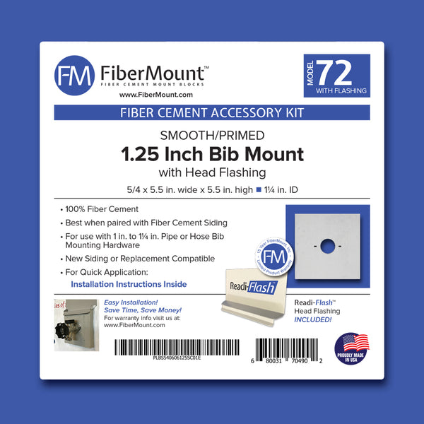 "Accessory Mount Kit - Piloted Bib Mount - 1.25"" ID"