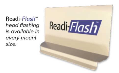 Readi-Flash Head Flashing w/Hemmed Edge