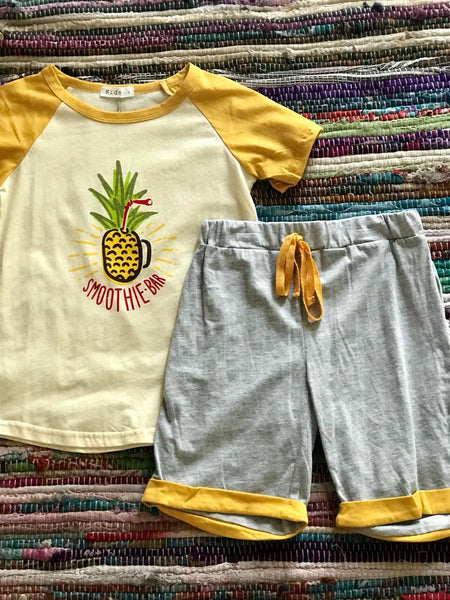 Pineapple Printed Outfit