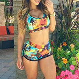 HIGH WAIST BRAZILIAN BIKINI