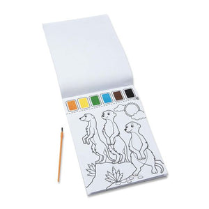 Melissa & Doug Paint with Water Art Pad - Safari - Bloom Kids Collection - Melissa & Doug