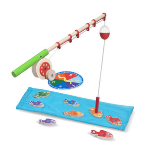 Melissa & Doug Catch & Count Magnetic Fishing Rod Set - Bloom Kids Collection - Melissa & Doug