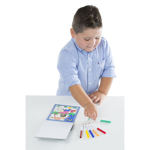 Melissa & Doug Color By Numbers - Blue - Bloom Kids Collection - Melissa & Doug