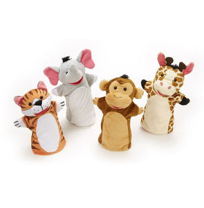 Melissa & Doug Zoo Friends Hand Puppets - Bloom Kids Collection - Melissa & Doug