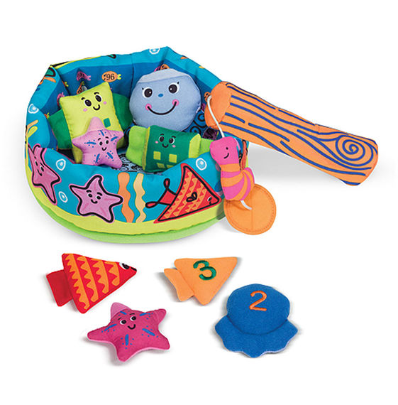 Melissa & Doug Fish & Count Learning Game - Bloom Kids Collection - Melissa & Doug