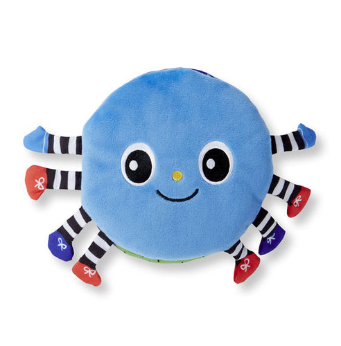 Melissa & Doug Soft Activity Book - Itsy-Bitsy Spider - Bloom Kids Collection - Melissa & Doug