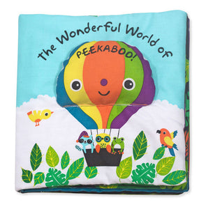 Melissa & Doug Soft Activity Book - The Wonderful World of Peekaboo! - Bloom Kids Collection - Melissa & Doug