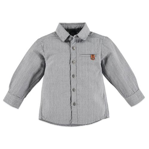 Babyface Boys Long Sleeve T-Shirt - Smoke - Bloom Kids Collection - Babyface