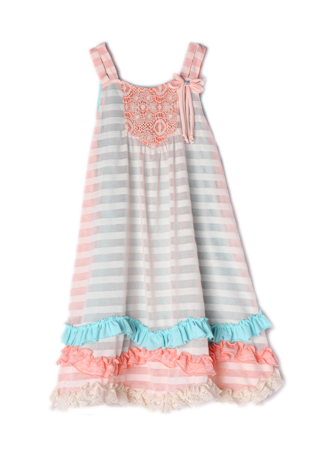 Isobella and Chloe Creamsicle Dress - Bloom Kids Collection - Isobella & Chloe