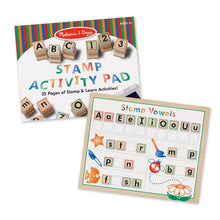 Melissa & Doug Wooden ABC Activity Stamp Set - Bloom Kids Collection - Melissa & Doug