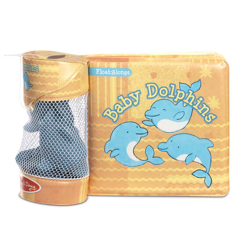 Melissa & Doug Float-Alongs - Baby Dolphins - Bloom Kids Collection - Melissa & Doug