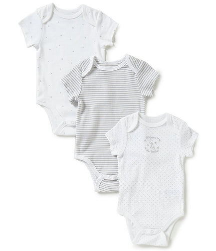 Little Me Welcome World 3 Pack Bodysuit - Bloom Kids Collection - Little Me
