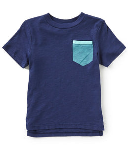 Flapdoodles Crew Pocket Tee - Bloom Kids Collection - Flapdoodles