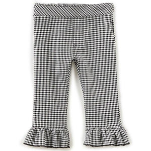 Flapdoodles Gingham Capri Pant - Bloom Kids Collection - Bloom Kids Collection