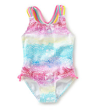Flapdoodles Starfish Mosaic Swim Suit - Bloom Kids Collection - Flapdoodles