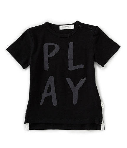 Miles Baby Play Loud Knit T-Shirt