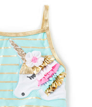 Flapdoodles Unicorn Swimsuit - Bloom Kids Collection - Flapdoodles